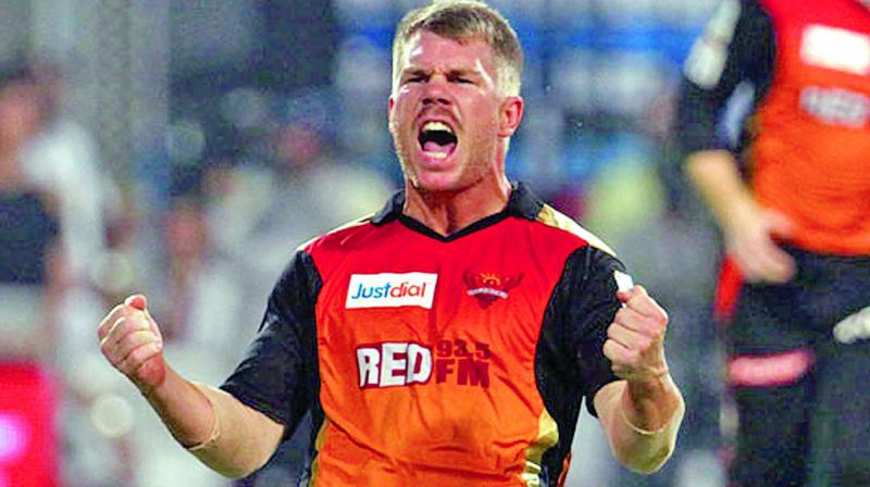 Sunrisers are set to  retain David Warner.