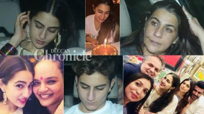 Sara Ali Khan's birthday was the highlight for the paparazzi updates in Mumbai on Sunday. (Photos: Viral Bhayani/ Instagram)