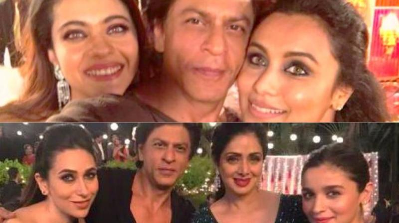The picture that Shah Rukh Khan shared on social media.