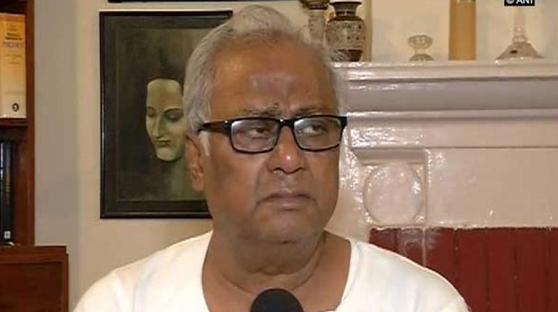 Participating in the Motion of Thanks to the President's address to the joint session of Parliament, TMC's Saugata Roy said if the government stops issuing advisories to the state, the party will co-operate with Centre. (Photo: ANI)