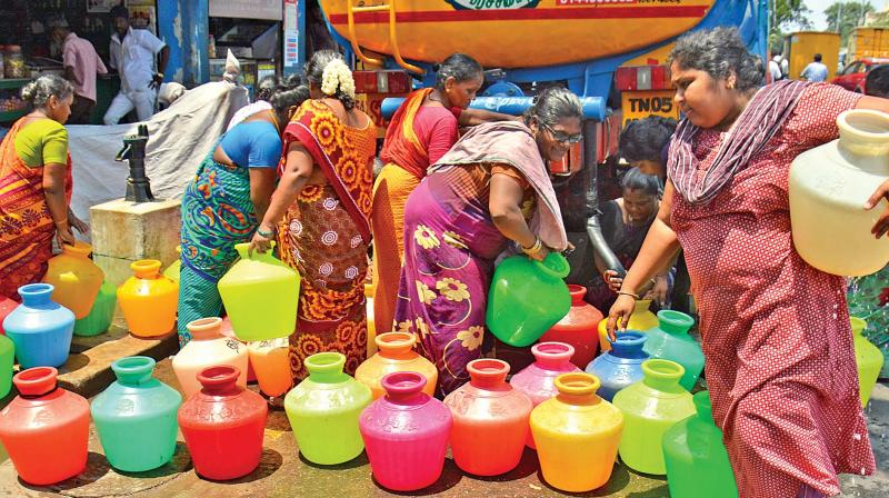 Image result for chennai metro water lorries