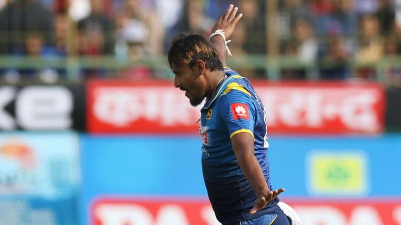 Sri Lanka have run riot to leave India tottering in the first ODI of the series in Dharamsala. (Photo: BCCI)