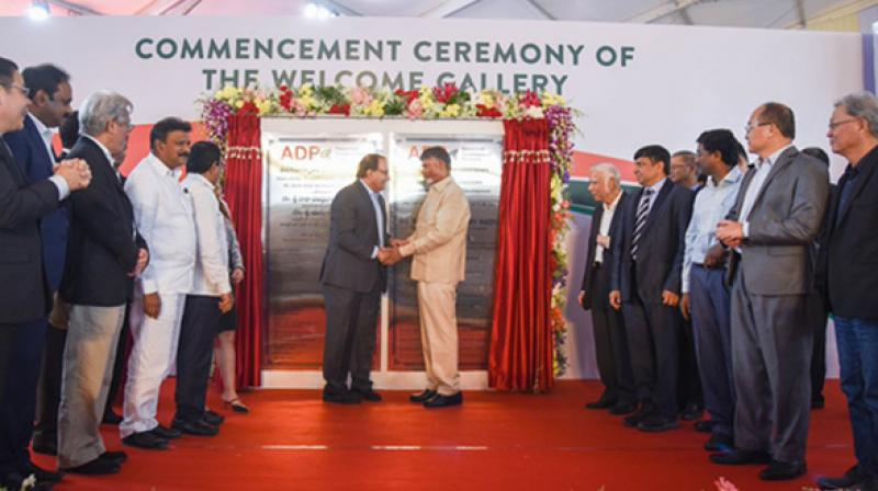 Singapore firms were involved in the development of Amaravati from 2014 with Singapore government-linked Surbana Jurong submitting the city's master plan in 2015. (Photo: ANI / File)