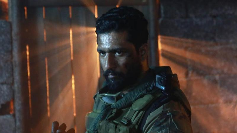 Vicky Kaushal in the still from URI. (Instagrammed by Vicky Kaushal)