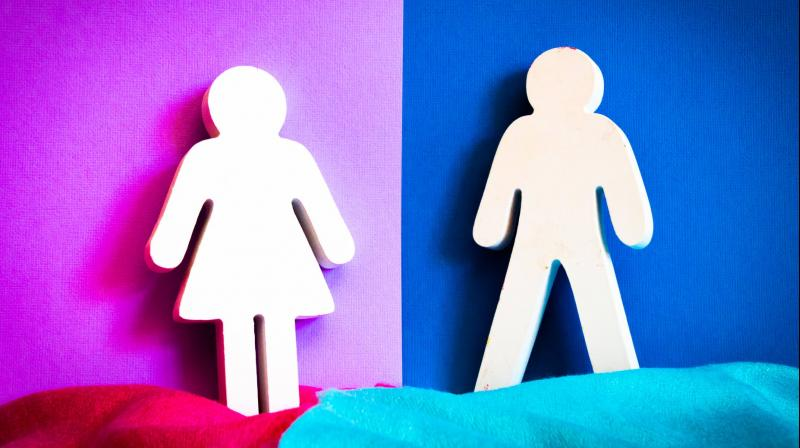 These behaviours and expectations around gender identity can be seen in