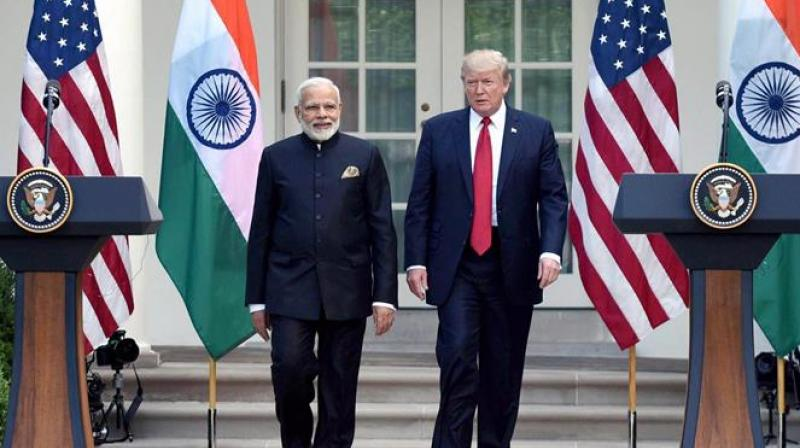 'I'm not blaming India. I think it s great that they can get away with it. I don t know why people allowed them to get away with it,' Trump said. (Photo: File)