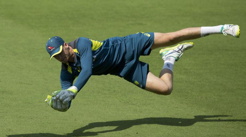 Handscomb worked with assistant coach and World Cup-winning wicketkeeper Brad Haddin during limited-overs tours to India and New Zealand in 2017 and he credited him for improving his glovework. (Photo: AP)
