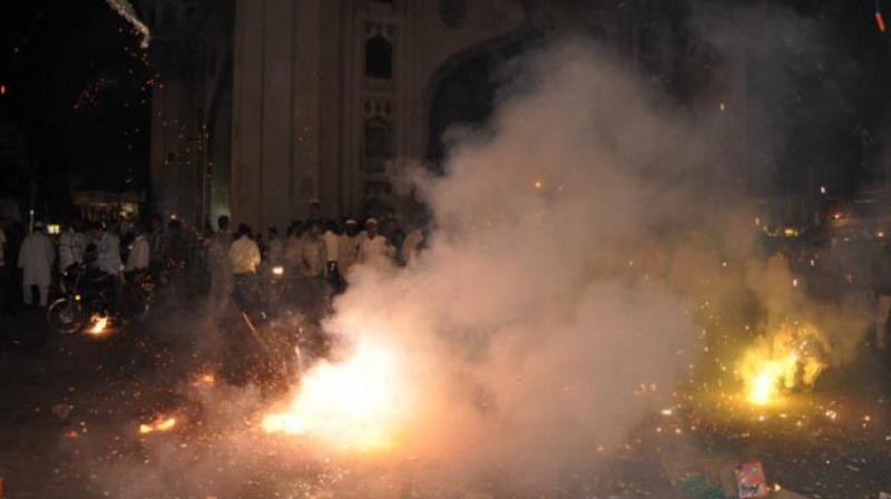 Small time-bound studies conducted during Diwali in the pre- and post-festive period have also shown that the air quality does get affected due to fireworks.(Representional Image)