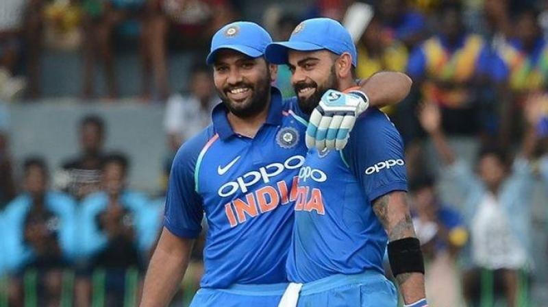 While Ganguly expressed his happiness on Kuldeep Yadav and Yuzvendra Chahal's performance, he also went onto explain the importance of Kohli and Rohit in the team. (Photo: AFP)
