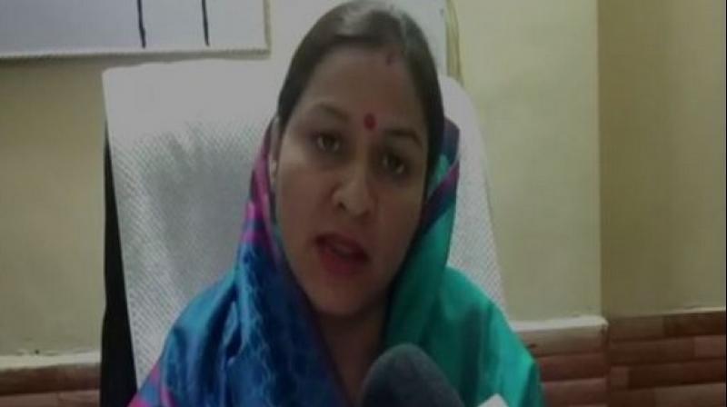 Chairperson of Nandprayag Nagar Panchayat Himani Vaishnav. (Photo: ANI)