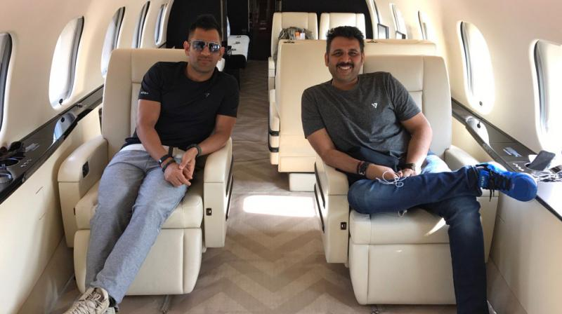 Image result for Dhoni's close friend Arun Pandey