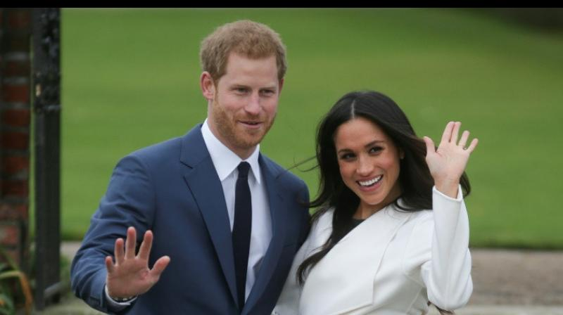 Prince Harry announced his engagement to American actress Meghan Markle on Monday. (Photo: AP)