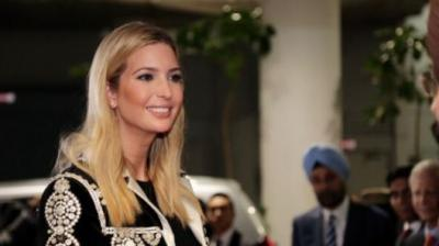 Ivanka Trump's 350-member delegation includes top administration officials and a large number of Indian-Americans. (Photo: Twitter/ Ken Juster)