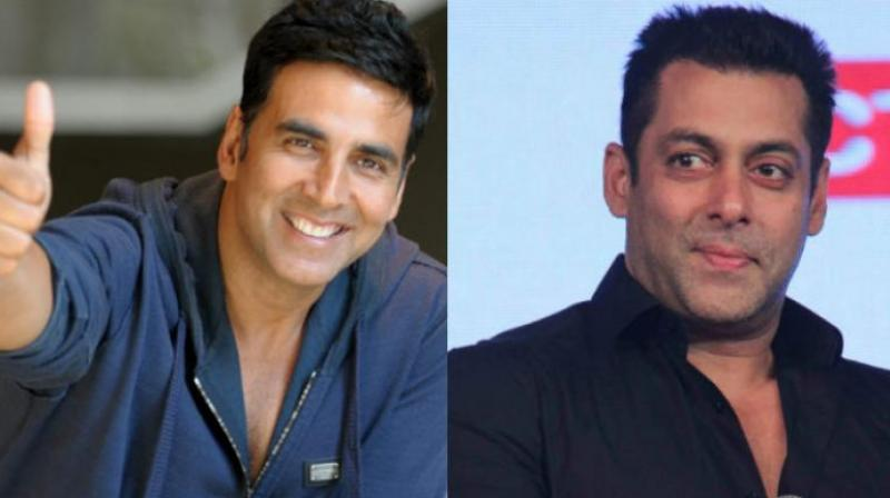 Akshay Kumar and Salman Khan.