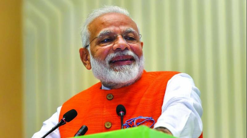 "Prime Minister Narendra Modi said on Friday, asserting that the support from people cutting across regions, languages, age groups and occupations has given his government a mandate ""unseen for decades"". (Photo: File)"