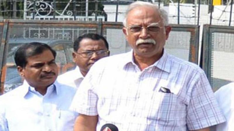 Civil Aviation Minister P. Ashok Gajapathi Raju. (File photo)
