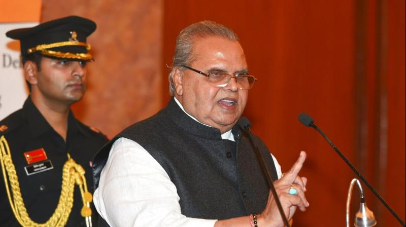 The governor dissolved the state assembly under the relevant provisions in Jammu and Kashmir constitution. (Photo: PTI)