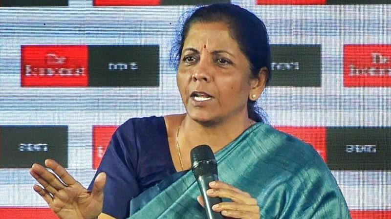 The Defence Minister was scheduled to board a special aircraft but shortly before her departure time, the Election Commission announced the schedule for the seven-phase polls commencing on April 11 and imposed the Model Code of Conduct. (Photo: PTI | File)