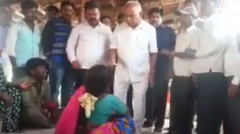 Bharatiya Janata Party Karnataka president BS Yeddyurappa. (Photo: videograb)