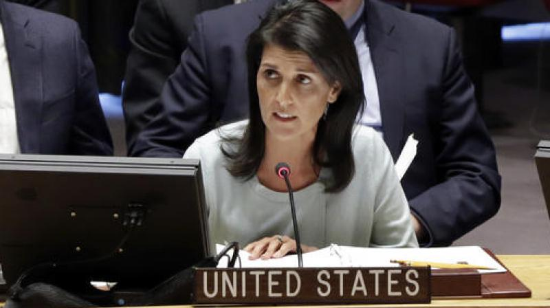 U.S.  seeks United Nations  emergency meeting on Iran on Friday