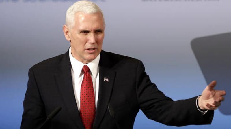 United States Vice President Mike Pence. (Photo: AP)