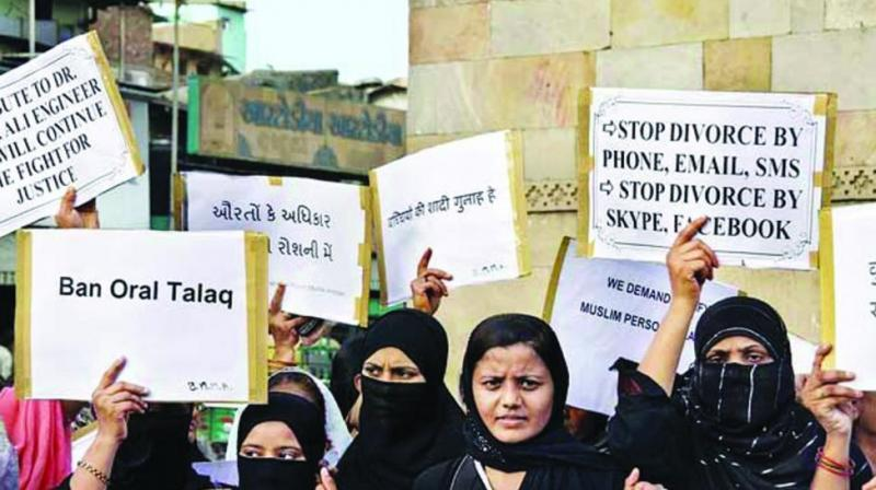 Triple Talaq Bill, which was passed by the Lok Sabha on Thursday, faces a real test in the upper house as the government lacks number there. (Photo: File)