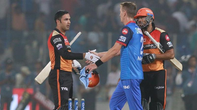 The 34-year-old off-spinner has played an important role in Sunrisers Hyderabad last two wins -- taking four wickets against Royal Challengers Bangalore last week and two scalps against Delhi Capitals here last night. (Photo: BCCI)