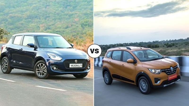 Renault Triber Vs Maruti Suzuki Swift Which One To Pick