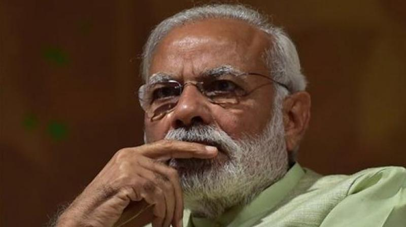 A report says, Narendra Modi will keep the rhetoric against corruption, including stricter norms of funding political parties, high-pitched ahead of the polls. (Photo: PTI)
