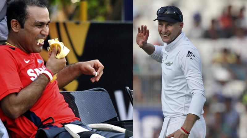 Virender Sehwag wished England cricketer Joe Root in a funniest manner on his birthday. (Photo: AFP / AP)