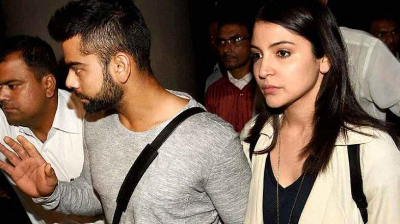 The country has been swept off its feet with the romance between Virat Kohli and Anushka Sharma. (Photo: PTI)