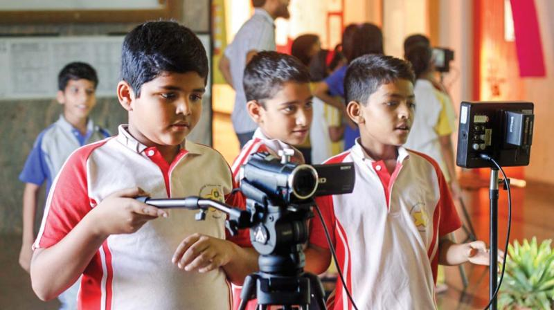 Children's Film Academy (CFA) is providing a platform for those children who have a taste for cinema.