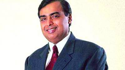 Reliance Industries chief Mukesh Ambani.