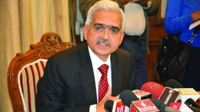 Reserve Bank Governor Shaktikanta Das.