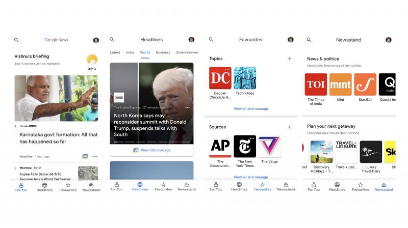 The new AI-driven Google News app comes to iOS