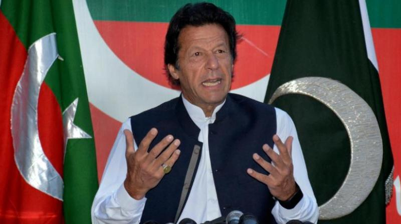Political experts in Pakistan seem to believe that this time the Army is supporting Imran Khan's party and that of the professor-turned terrorist Hafeez Saeed, whose supporters need to be given space in Pakistan's polity. . (Photo: AP)