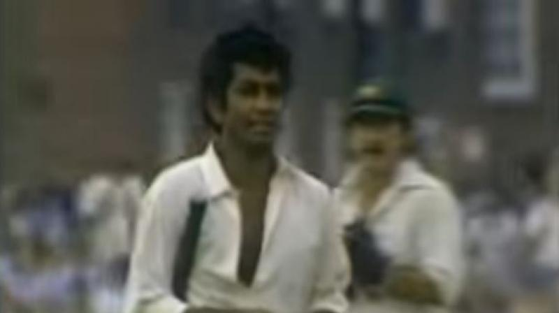 Kallicharan, a stylish left-hander, featured in 66 Tests and 31 ODIs and was part of the West Indies team that won the inaugural World Cup in 1975. (Photo: Youtube/Screengrab)