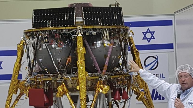 Israel gets set to land spacecraft on the moon