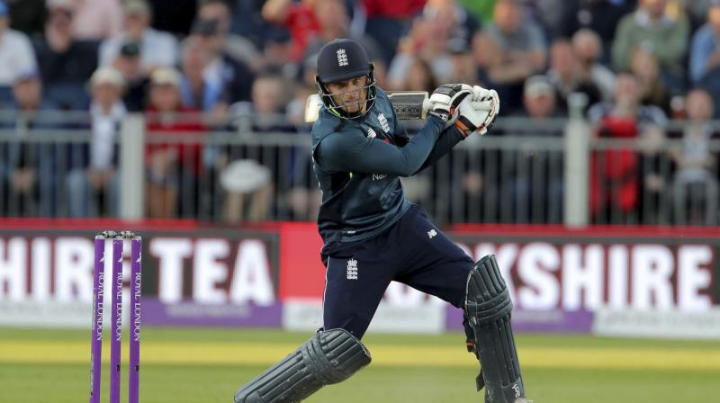 Jos Buttler's 110 not out rescued England from the brink of defeat as they beat Australia by one wicket in the fifth one-day international at Old Trafford on Sunday to complete a 5-0 whitewash of the reigning world champions. (Photo: AP)