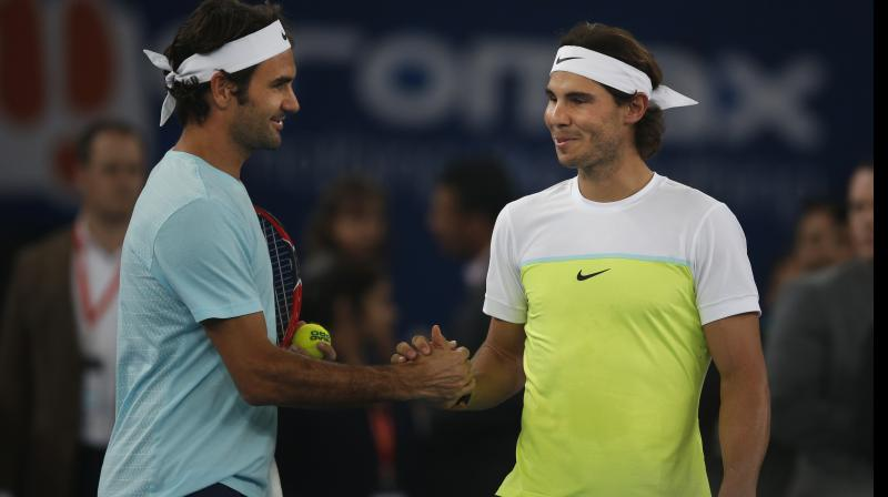 It will be episode 39 of their rivalry, and would offer the 37-year-old Federer the opportunity to cap a glittering career with perhaps his greatest achievement should he go on to lift the title having beaten the 'King of Clay' en route. (Photo: AP)