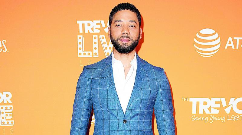 Jussie Smollett struts into court for hearing about allowing cameras in courtroom