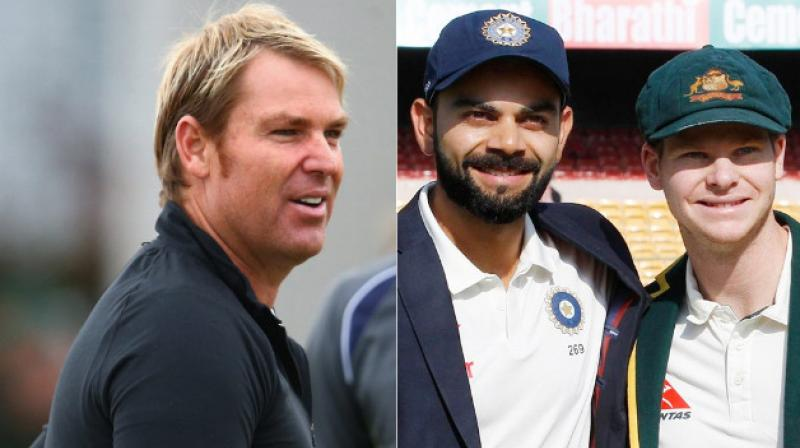 Australian spin legend Shane Warne admitted that it was difficult to comment on who is the best batsman in Tests, saying that players like them are super-competitive.(Photo: AFP / BCCI)