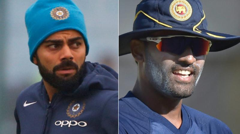 India will be without the services of regular skipper Virat Kohli in the limited overs series after he opted for rest, but Thisara Perera feels that his team would still has to put its best foot forward against the hosts.(Photo: AP / PTI)