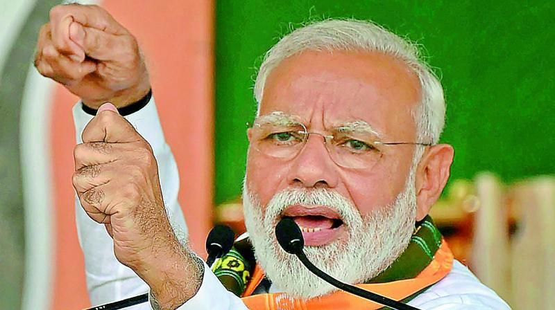 During an interview, Modi said that the Godse remark is absolutely unforgivable. (Photo: File)