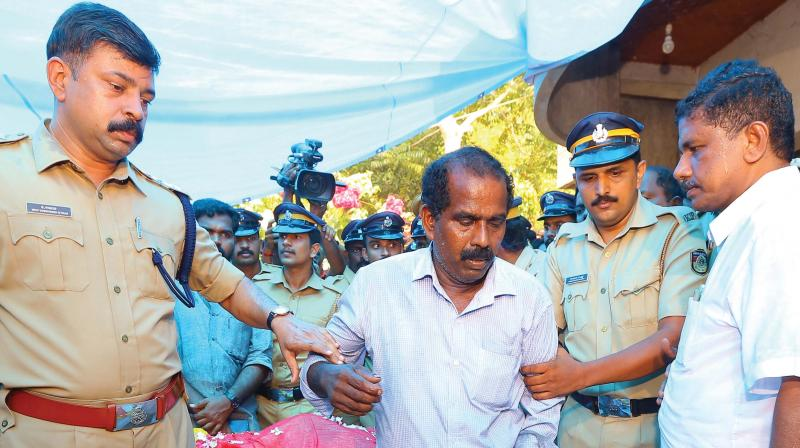 Police arrests Lekha's husband Chandran after the suicide note surfaced.  (DC)