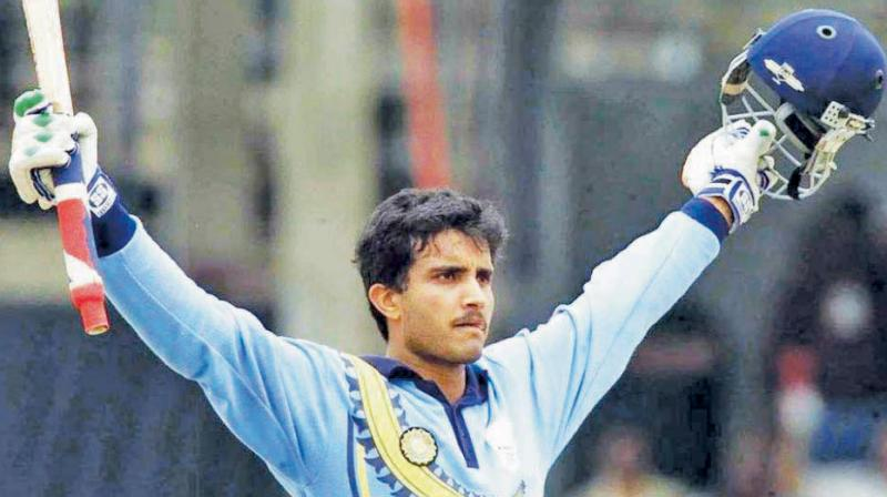 Ganguly, regarded as one of the best captains of the modern era made his ODI debut on 11 January 1992 against West Indies. (Photo: AFP)