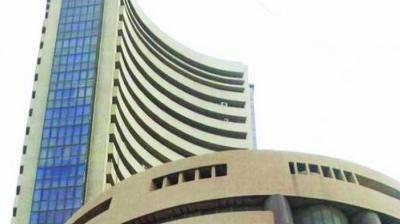 The broader NSE Nifty slipped 7.60 points or 0.06 per cent to 12,214.30.