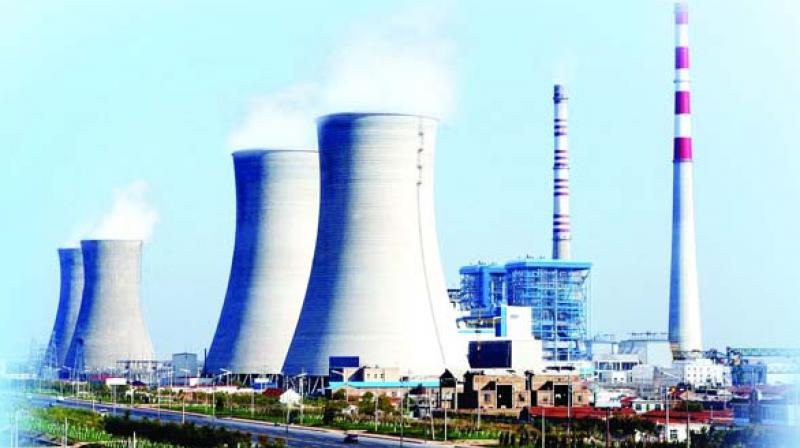 The 4,000-MW Yadadri thermal power plant proposed to be set up at Damaracherla in Nalgonda district will require over 6.5 tmc ft of water every year. (Representational image)