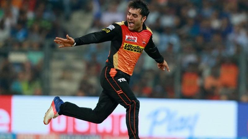 Hyderabad brought Rashid Khan for just 4 crore in the 2017 auction. (Photo: BCCI)