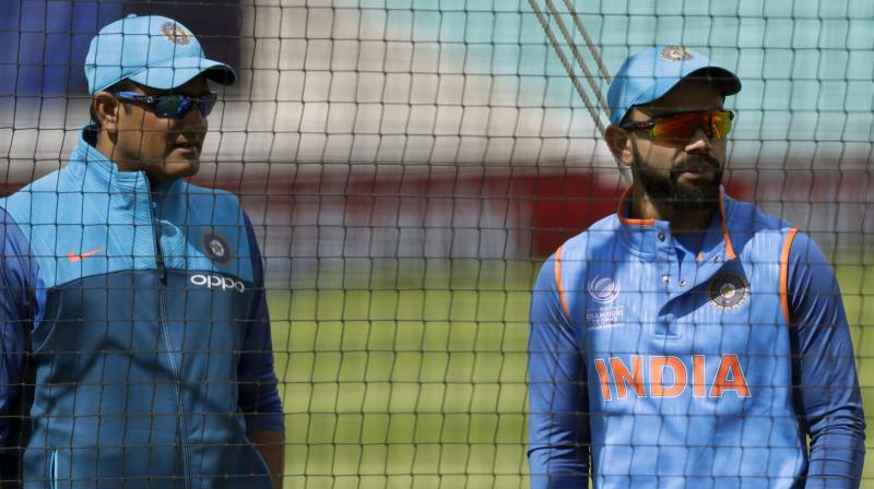 Virat Kohli said that he will not lose respect towards Anil Kumble.(Photo: AP)